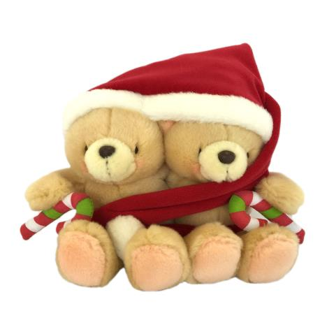 "2 x 6"" All Wrapped Up Forever Friends Santa Bears"