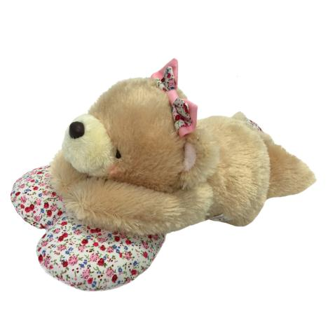 "10"" Laying on Spring Heart Forever Friends Bear"