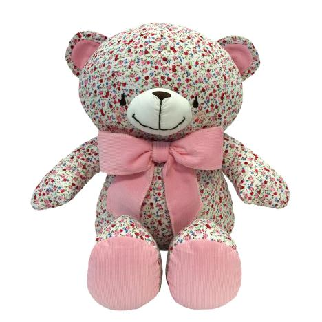 "16"" Floral Pattered Forever Friends Bear"