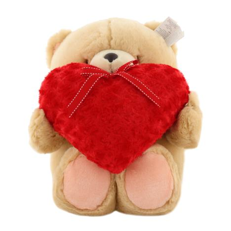 "22"" Red Fluffy Heart Forever Friends Bear"