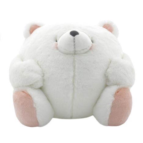 "14"" Round Forever Friends White Bear"