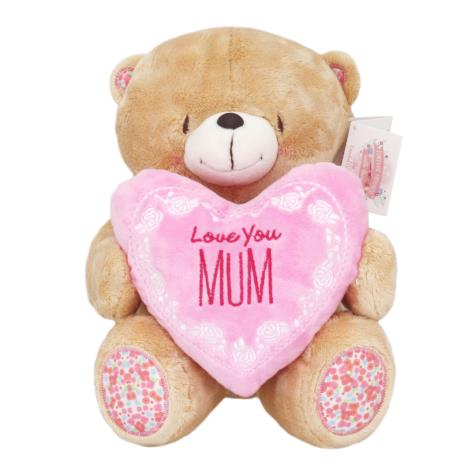 "10"" Love You Mum Padded Heart Forever Friends Bear"
