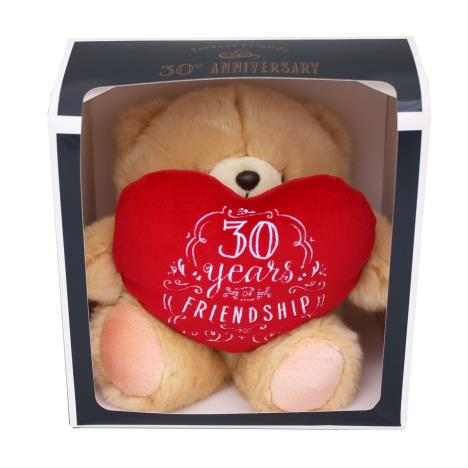 "10"" 30 Years Of Friendship Anniversary Boxed Forever Friends Bear"