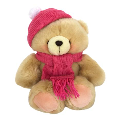 "10"" Winter Hat & Scarf Forever Friends Bear"