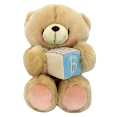 "10"" Holding Baby Block Forever Friends Bear"