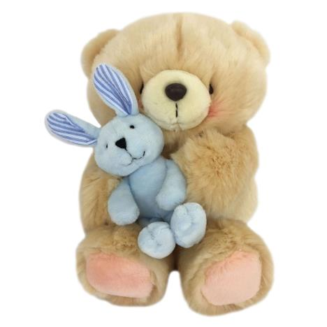 "10"" Holding Blue Bunny Forever Friends Bear"