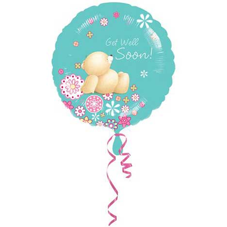 Get Well Soon Forever Friends Foil Balloon (Unfilled)