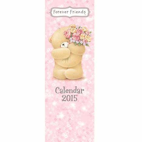 Forever Friends Slim Calendar 2015