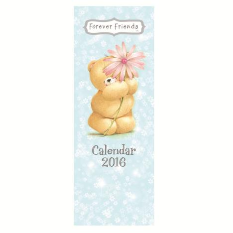 Forever Friends Slim Calendar 2016