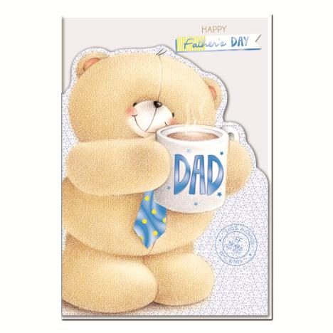Dad On Fathers Day Large Forever Friends Card