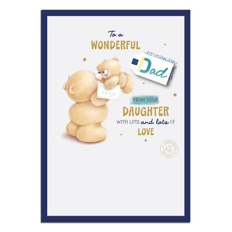 Dad From Daughter Forever Friends Fathers Day Card
