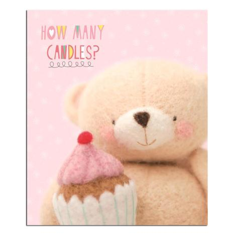 How Many Candles Forever Friends Birthday Card