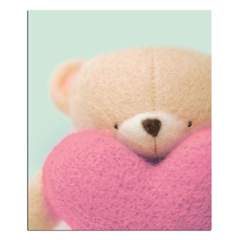 Forever Friends Bear With Heart Card
