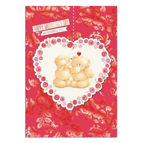 Happy Valentines Day Forever Friends Card