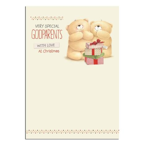 Special Godparents Forever Friends Christmas Card