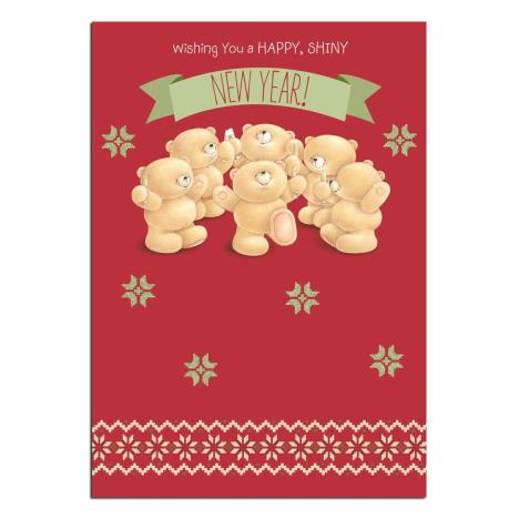 Happy New Year Forever Friends Card