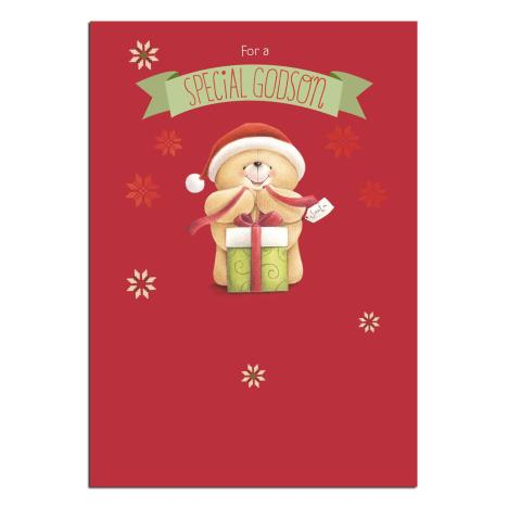 Special Godson Forever Friends Christmas Card