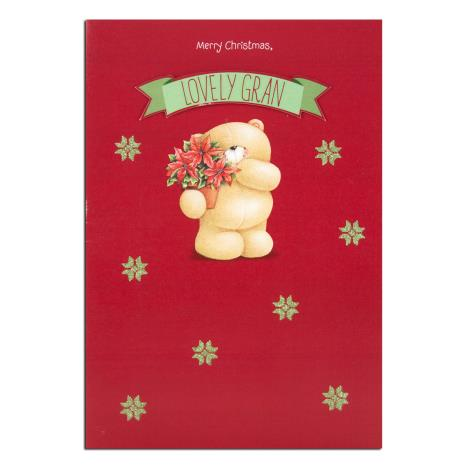 Lovely Gran Forever Friends Christmas Card