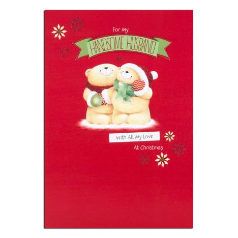 Handsome Husband Forever Friends Christmas Card