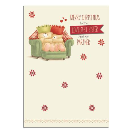 Sister & Partner Forever Friends Christmas Card