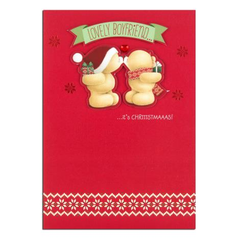 Boyfriend Forever Friends Christmas Card