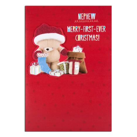 Nephew 1st Christmas Forever Friends Christmas Card