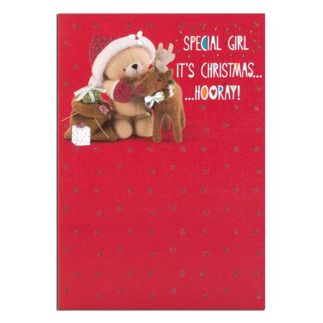 Special Girl Forever Friends Christmas Card