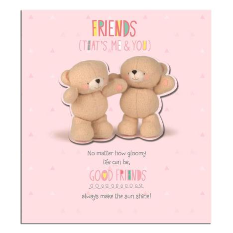 Good Friends Thank You Forever Friends Card