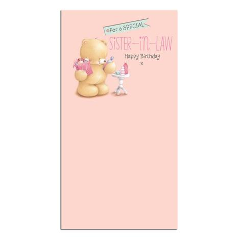 Sister-In-Law Birthday Forever Friends Card