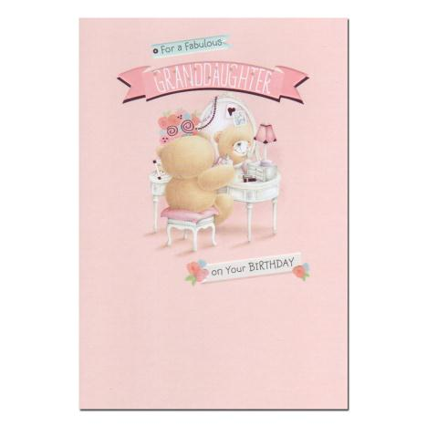 Fabulous Granddaughter Birthday Forever Friends Card