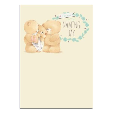 On Your Naming Day Forever Friends Card