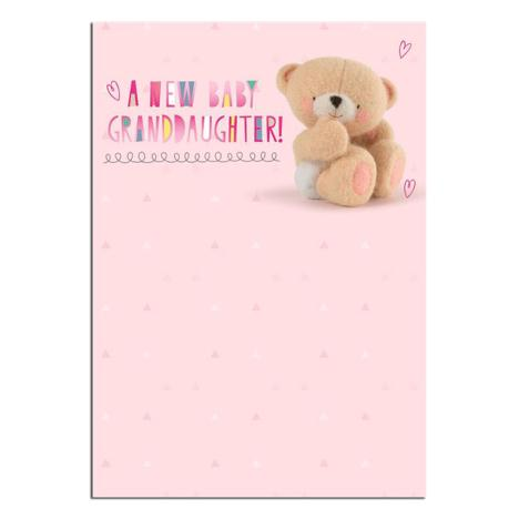 New Baby Granddaughter Forever Friends Card