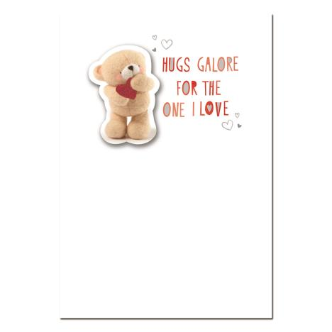 Hugs Galore One I Love Forever Friends Valentines Day Card