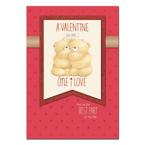 One I Love Luxury Forever Friends Valentines Day Card