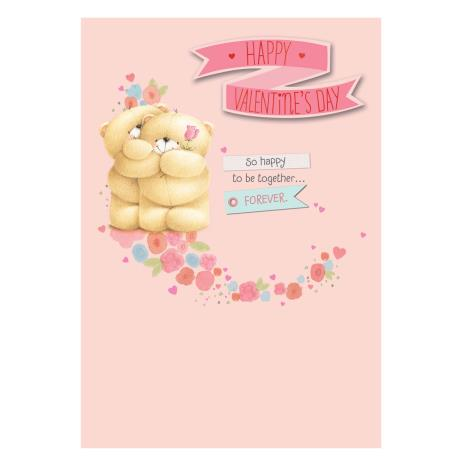 Fiancee Birthday Forever Friends Card