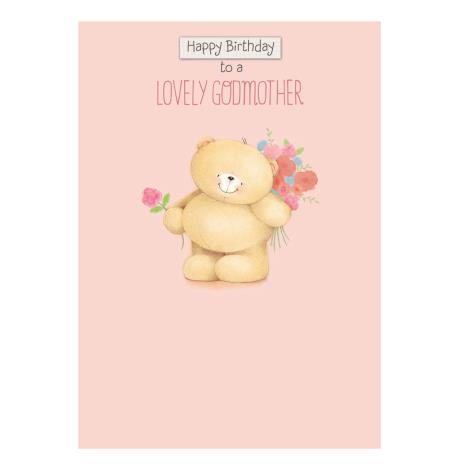 Godmother Birthday Forever Friends Card