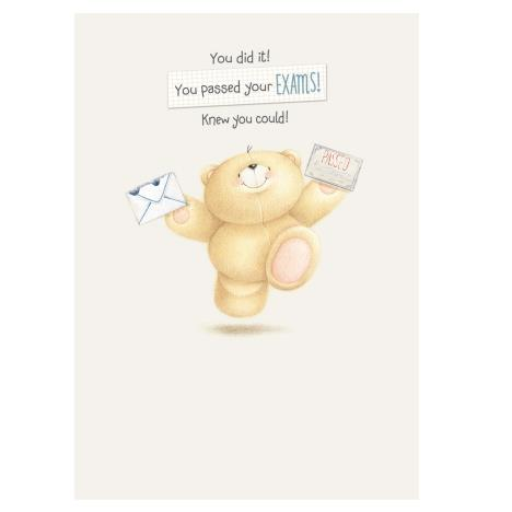 Exam Congratulations Forever Friends Card