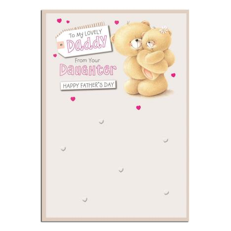 Daddy From Daughter Forever Friends Fathers Day Card