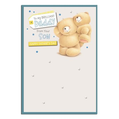 Daddy From Son Forever Friends Fathers Day Card