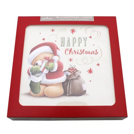 Forever Friends Christmas Cards Boxed Pack of 18