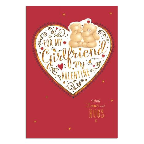 Girlfriend Forever Friends Valentines Day Card