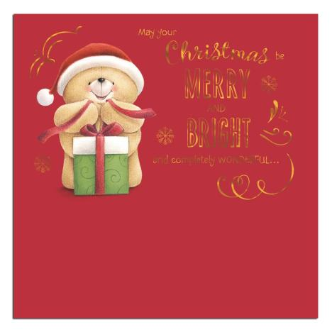Merry and Bright Forever Friends Christmas Card