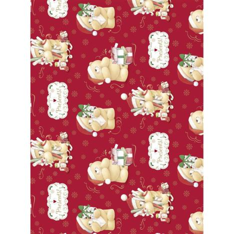 3m Forever Friends Red Christmas Roll Wrap