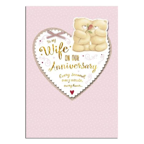 Wife Anniversary Forever Friends Card