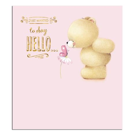Just to Say Hello Forever Friends Card