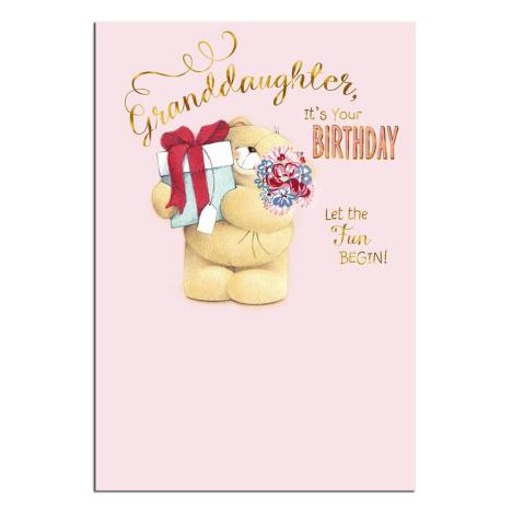 Granddaughter Forever Friends Birthday Card