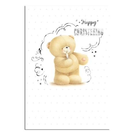 Christening Day Forever Friends Card