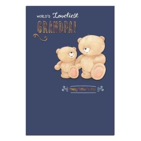 Loveliest Grandpa Forever Friends Fathers Day Card