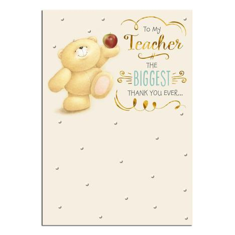 Thank You Teacher Forever Friends Card
