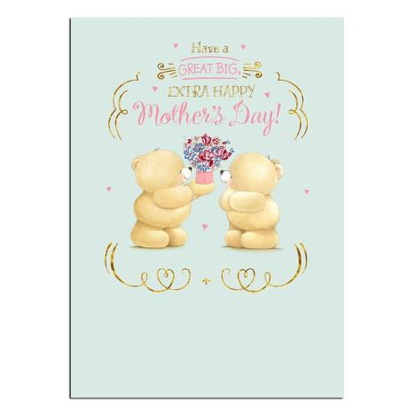 Extra Happy Forever Friends Mothers Day Card